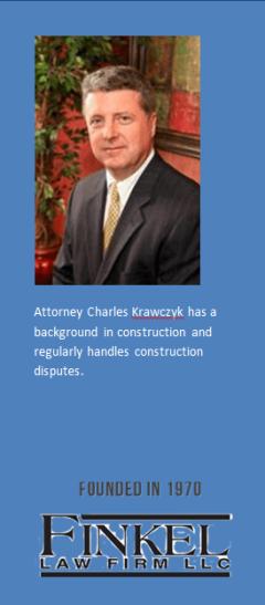 Attorney Charles Krawczyk & Construction Law
